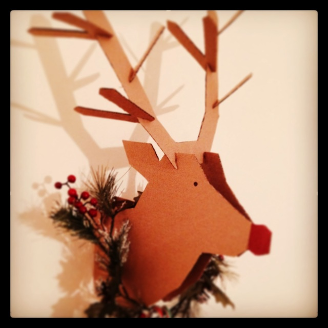 Rudolph Christmas DIY