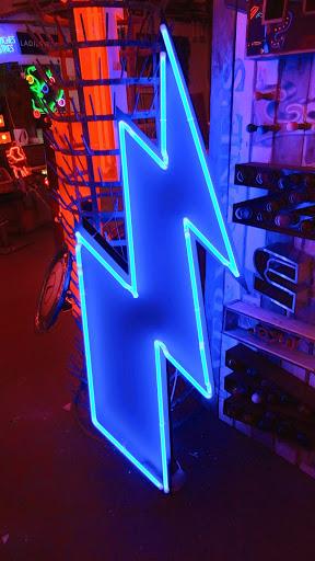 God's Own Junkyard Neon Lightning