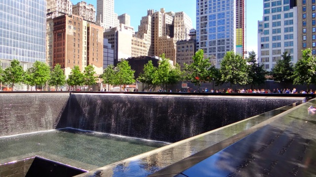 New York City 9/11 memorial