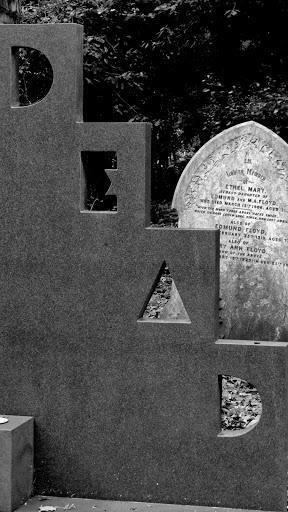 Highgate Cemetery Tombstone