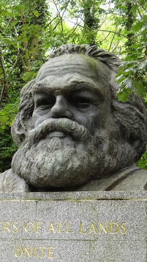 Highgate Cemetery Karl Marx