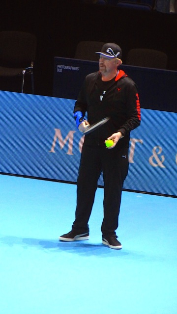 ATP World Tour Finals O2 Tennis Borris Becker