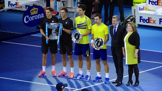 ATP World Tour Finals O2 Tennis Bryan Brothers Dodig Melo