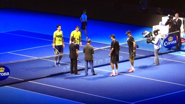 ATP World Tour Finals O2 Tennis Dodig Melo Bryan Brothers