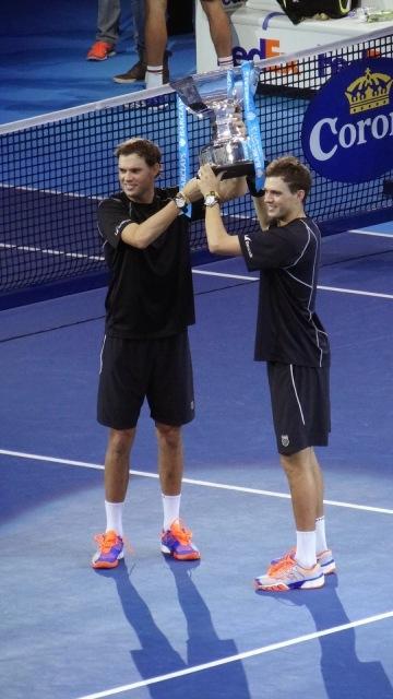 ATP World Tour Finals O2 Tennis Bryan Brothers