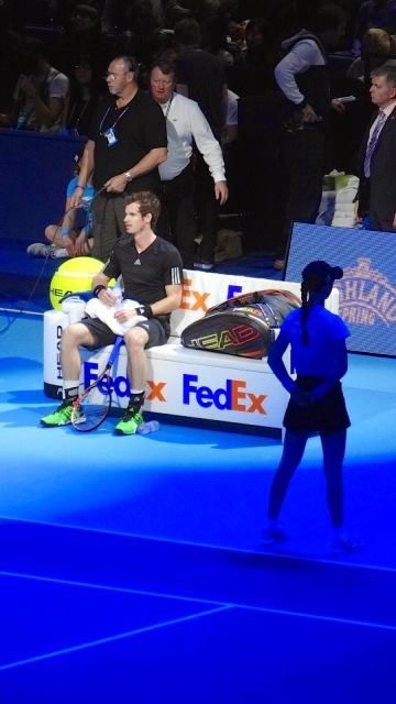 ATP World Tour Finals O2 Tennis Andy Murray