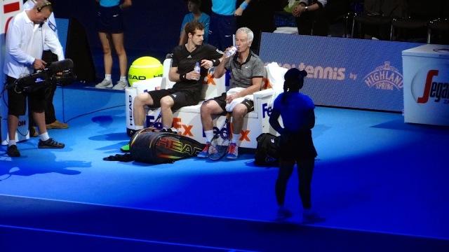 ATP World Tour Finals O2 Tennis 2014 Murray McEnroe