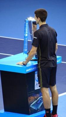 ATP World Tour Finals O2 Tennis Novak Djokovich