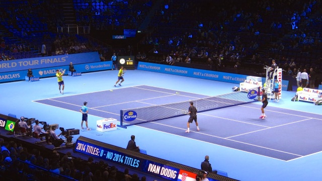 ATP World Tour Finals O2 Tennis Doubles Dodig Melo Bryan Brothers