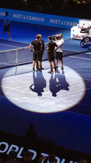 ATP World Tour Finals O2 Tennis Andy Murray Novak Djokovich