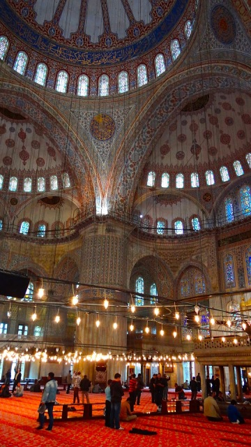 Blue Mosque, Sultanahmet, Istanbul, Turkey