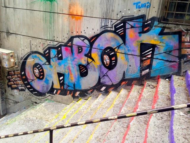 Istanbul, Turkey, Ohbok, Graffiti, Streetart