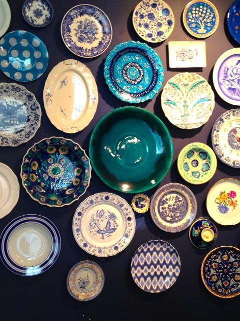 Istanbul, Turkey, Turkish, plates, naif